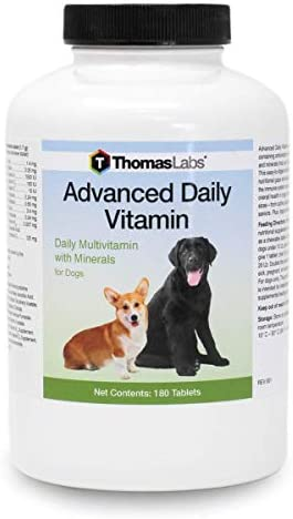 Thomas Lab Advanced Daily Vitamin, 180 ct