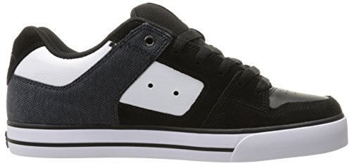 White homme SE PURE Shoes DC SHOE Black D0301024 Baskets mode 7ABq0
