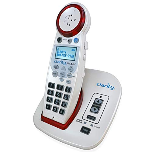 Clarity XLC3.4+ DECT 6.0 Extra Loud Big Button Speakerphone with Talking Caller ID ()