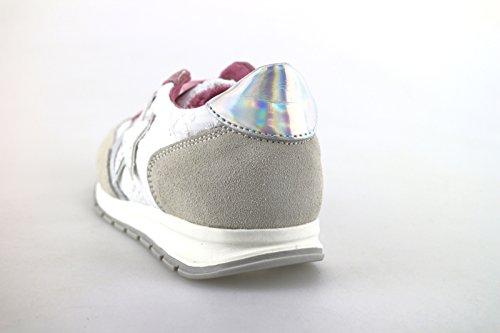 Laura Biagiotti Sneakers Mädchen Weiß Textile Pink Wildleder AH987 (32 EU)