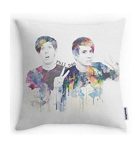 DEGTTF Decorbox Phil Lester and Dan Howell Pillowcases
