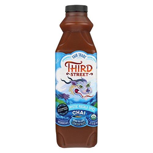 Third ST Chai - Mystic Masala Spice - Case of 6 - 32 Fl oz. by Third St