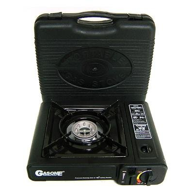 Nature's Quest Deluxe Portable Gas Butane Stove with Free Case, Outdoor Stuffs