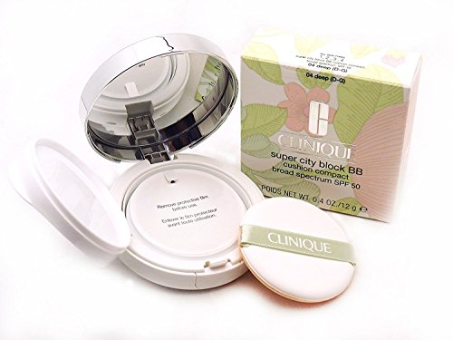 Clinique Super City Block BB Cushion Compact Broad Spectrum SPF 50, 01 Fair