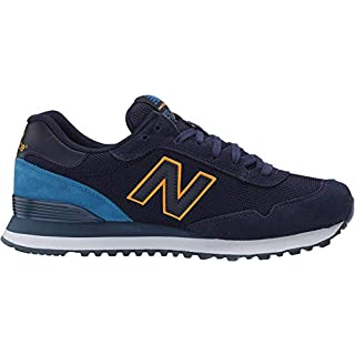 New Balance Men's 515 V1 Sneaker, Pigment/Mako Blue, 18 XW US