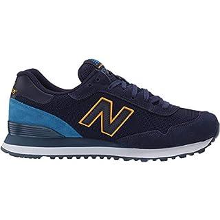 New Balance Men's 515 V1 Sneaker, Pigment/Mako Blue, 18 XW US