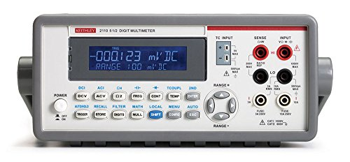 Keithley 2110-100 Digital Bench Multimeter, 100V, 5.5 Digit