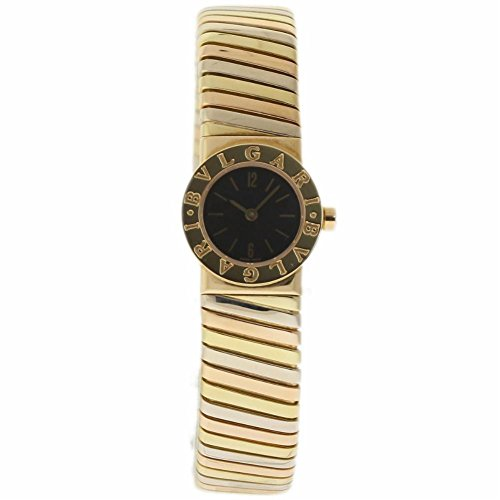 Bvlgari Tubogas swiss-quartz womens Watch BB192T (Certified Pre-owned)