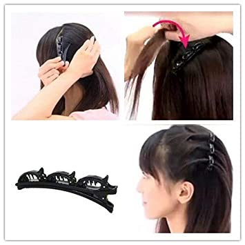 Buy Generic 1pc Black Hairpins Hair Clips Women Hairclip Barrettes Comb Hairpin Hair Disk Bump Hair Styling Tools 2019 New Online At Low Prices In India Amazon In