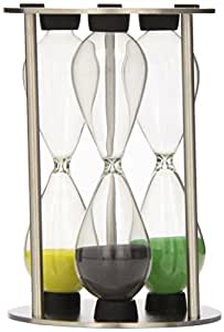 G&H Tea Services Thames Oasis Perfect 3-4-5-Minute Sand Timer