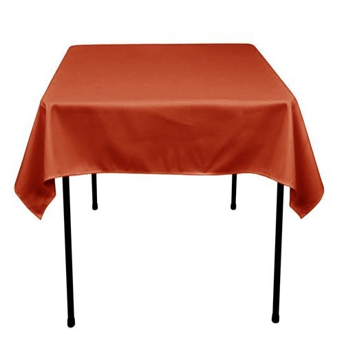 Runner Linens Factory Square Polyester Tablecloth 54x54 Inch