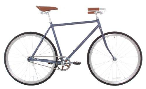 Vilano Classic Urban Commuter Medium Single Speed Bike Dutch Style City Road Bicycle, Grey, 54 cm/Medium For Sale