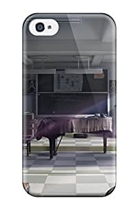 Muriel Alaa 9682114K967952932 konpaku youmu animal ears Anime Pop Culture Hard Plastic For Apple Iphone 4/4S Case Cover