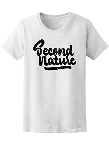 Second Nature Ink Calligraphy Tee Women's -Image by Shutterstock from Teeblox