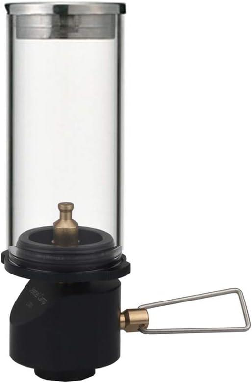 ACHICOO Lampes à Bougies à gaz pour équipement de Camping Lanterne de Camping Dark green