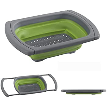 Amazon Com Collapsible Colander By Blissful Living
