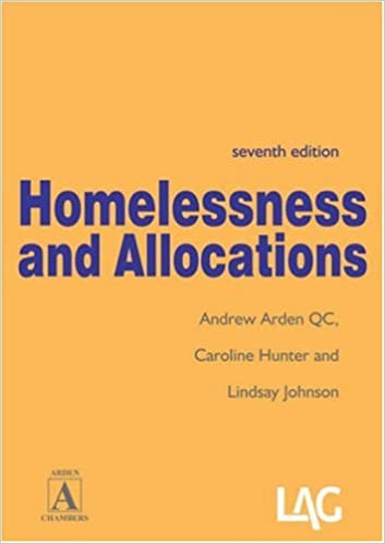 Book Homelessness and Allocations
