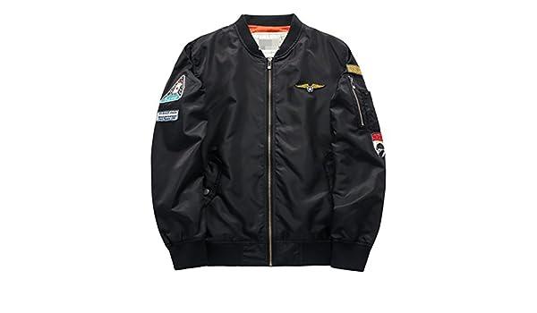Amazon.com: YouzhiWan007 Military Jacket Men Mens MA-1 Style Army Tactical Baseball Jacket Jackets and Coats For Men Male Militar Chaqueta .