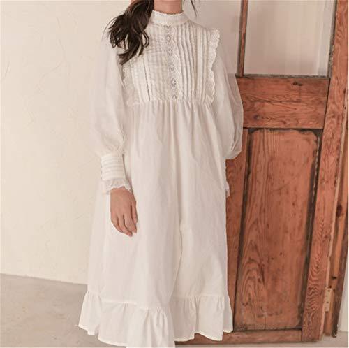 Plisada White De Afuera Pueden Usar Girl Retro Mullidos Palace Se Gasa Mmllse Pijamas Hpq1xIpw