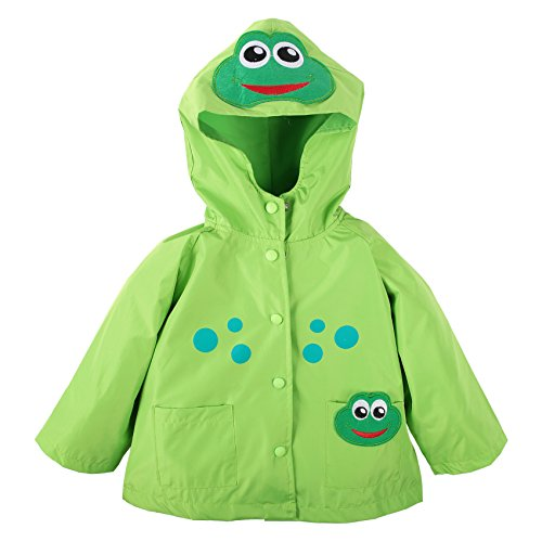 Kids Frog Raincoat - 8