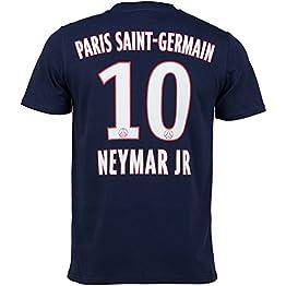 PSG T-Shirt Neymar Jr - Collection Officielle Paris Saint Germain - Taille Adulte Homme