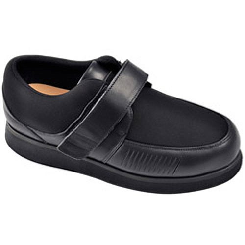 Apis Mt. Emey 728-E Bunion Men's Therapeutic Extra Depth Shoe: Black 17 XXXX-Wide (14E) Velcro