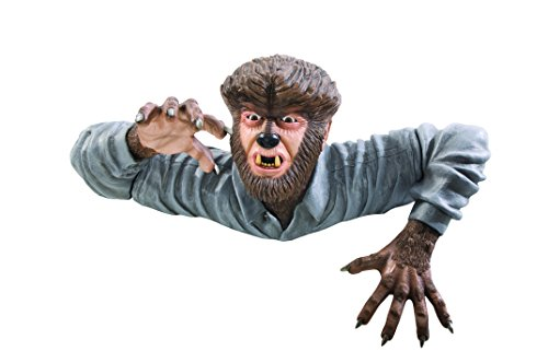 Rubie's Universal Monsters Grave Walker Decoration, Wolfman -