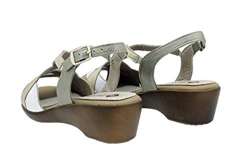 Sandales Chaussure Piesanto Talon Femme Compensé Venus Visón À 180552 Confort 6gqdHv