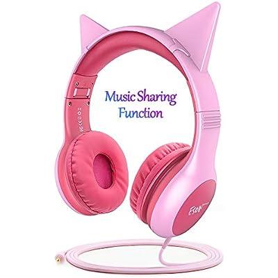 esonstyle-kids-headphones-pink-girls