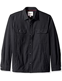 Men's Military Broken Twill Shirt Jacket