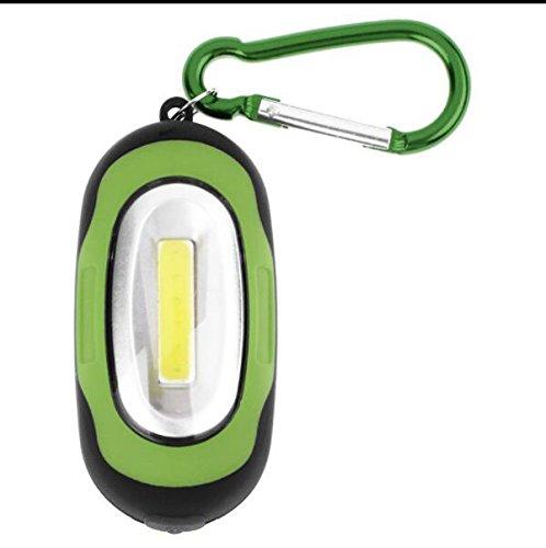 Fenghong Llavero Linterna, Mini COB Linterna LED Impermeable ...