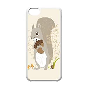 AinsleyRomo Phone Case Lovely animal squirrel pattern case For Iphone 5c FSQF512459