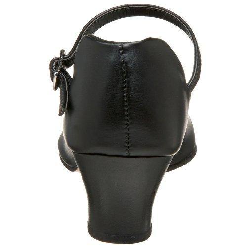Capezio Women's Jr. Character Shoe,Black,5