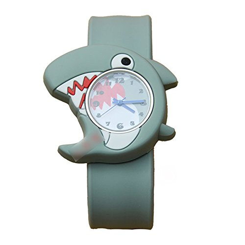 Animal Unisex Silicone Wristwatch Quartz