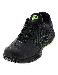 HEAD Revolt Team 3.0 Mens Tennis Shoe (Black/Green)