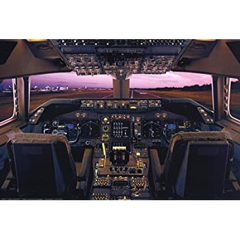 Amazon.com: F-16 Cockpit Flight Deck Wall Decor Military ...