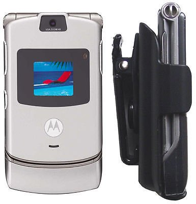 Razr Phone V3T V3X V3c V3R V3 V3I V3M Holster clip Motorola Case Razor cell Belt ()