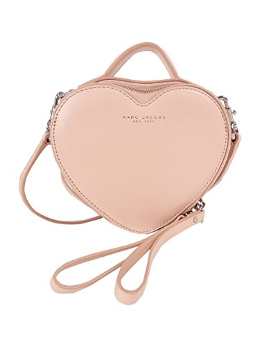Marc Jacobs Heart Cross Body, Seashell Peach, One Size