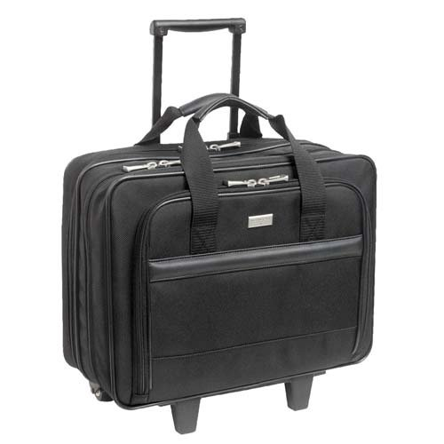 Us Luggage Rolling Computer Case (o US Luggage o - Computer Rolling Case,2 Fan Files,16-1/2