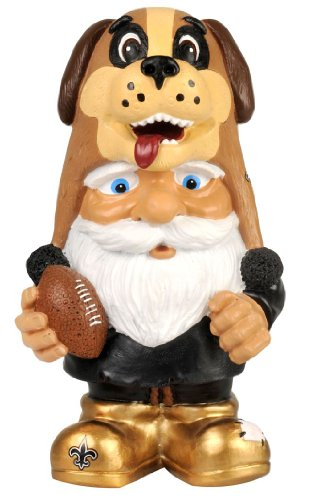 New Orleans Saints Football Mad Hatter Gnome