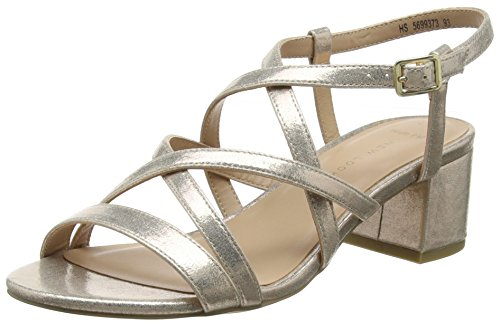 New Look Women's Wide Foot Toll Open Toe Sandals Gold (Gold 93) AU87SGDQL4