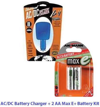 en todo el mundo-Cargador De Baterías Para Aa Ultra Rápida Ni-mh // Aaa Pilas De Nimh lr06