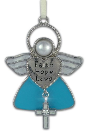 BANBERRY DESIGNS Faith Hope Love Angel Christmas Ornament with ()