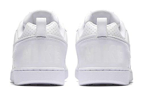 Nike Herren Court Borough Low Basketballschuhe, Grau Elfenbein (whitewhitewhite 111)