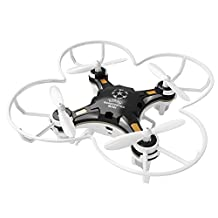 GBlife 2.4Ghz 4CH 6-Axis Gyro RTF RC Quadcopter, Intelligent Portable Mini Drone, Headless Mode Without Camera