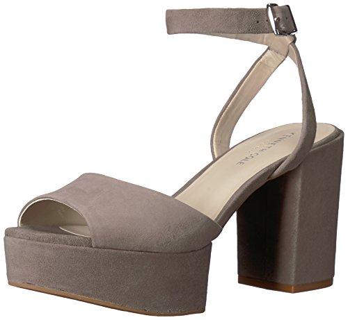 Kenneth Cole New York Women's Pheonix Platform Dress Sandal Heeled, Elephant, 8 M US