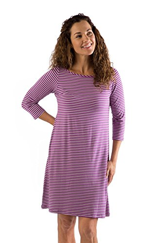 rbt416-extra-small-orchid-natural-stripe-bamboodreams-rita-boatneck-3-4-sleeve-tunic