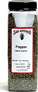1-Pound Premium Coarse Ground Black Pepper (18 Mesh)