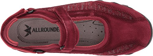 Mary Mephisto Allrounder flyknite Winter Mujer Red By De Jane Niro Soporte La Suede Dark XgZFgS