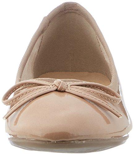 para patente nudista ballet beige mujeres 3 negras de de Tamaris Zapatillas del 253 22100 Unido Reino wXFgqTp